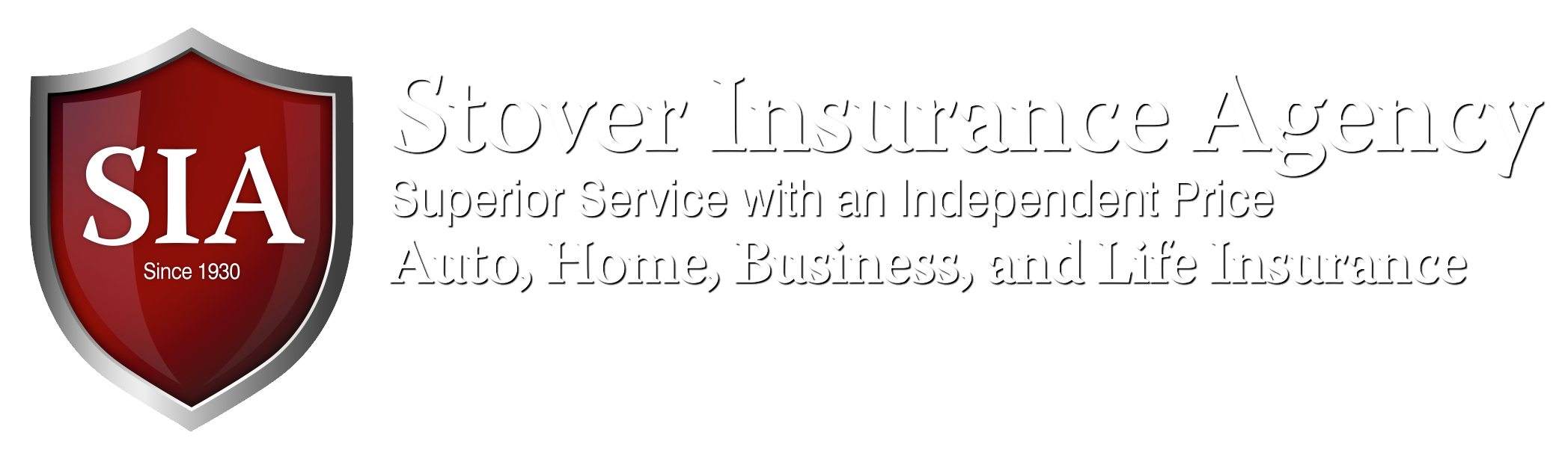 Stover Insurance Agency homepage
